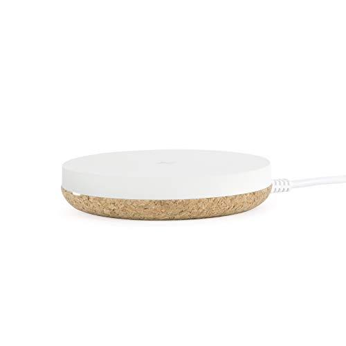 TYLT Puck 10W Wireless Charging Pad (White), Qi-Certified Wireless...