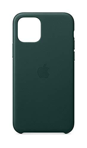 Apple Leder Hülle (für iPhone 11 Pro) - Waldgrün - 5.8 Zoll