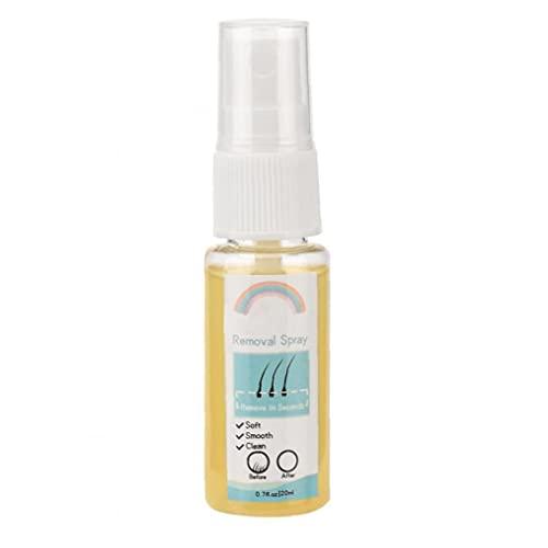 Berrywho Atención para Hombres afeitamiento y depilación de Productos de depilación Spray Spray Peluquería Permanente inhibidor de la solución depilatoria del Cuidado del Cuerpo 20ml