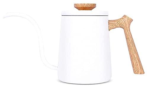 Cafeteras de café 600ml de acero inoxidable de acero inoxidable largo y estrecho Copa de cisne de cuello de copa de copa Hervidor de hervidor de hervidor de hervidor de mano.