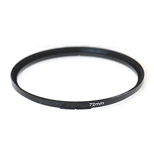 SRR Nuevo Filtro a Anillo Adaptador de Tornillo de 72 mm, Anillo Adaptador para filtros Anillo Adaptador de Filtro de Lente, Fit for Rollei 6008 6000 Rolleiflex Lens Bay 6 Vi