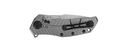 Zero Tolerance 0308 Folding Knife, Premium CPM 20CV Blade Steel, Manual KVT Opening, Coyote Tan G10 Handle, Made in The USA, 3.7 Inch
