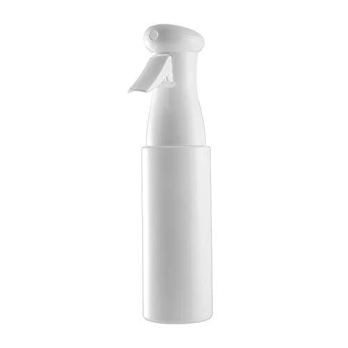 Flacon pulvérisateur TFTREE Pulvérisateur à pression polyvalent pour la coiffure, les plantes, le nettoyage, le visage et le nettoyage Flacon pulvérisateur continu rechargeable-White-250ml