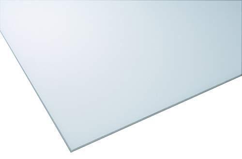 IRONLUX Pack 10 placas metacrilato opal hielo de 4mm para falso techo - 60x60