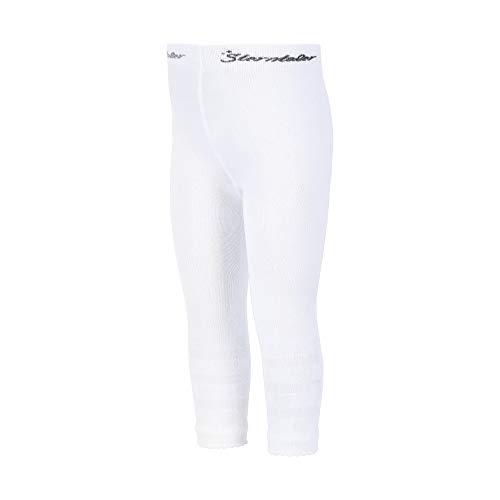 Sterntaler Leggins Herzen Leggings, Blanco (Weiss 500), Talla Única (Talla del Fabricante: 128) para Niñas