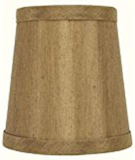 Upgradelights Copper 12 Inch Tapered Drum Slip Uno Lampshade Replacement 9x12x8.5