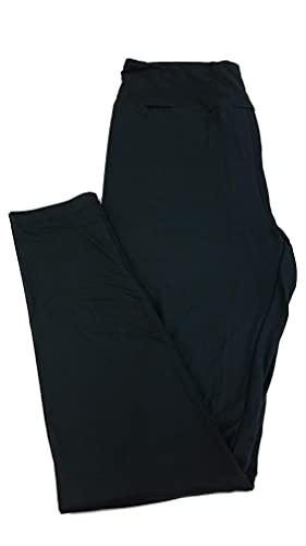 Lularoe One Size OS Solid Black (108552) Womens Leggings fits Adult Sizes 2-10