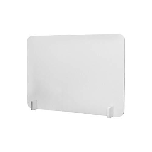 HH1 Mampara de Protección Mostrador Proteccion Sobremesa Material Transparente para Oficinas Mostradores Manicura,50X40cm