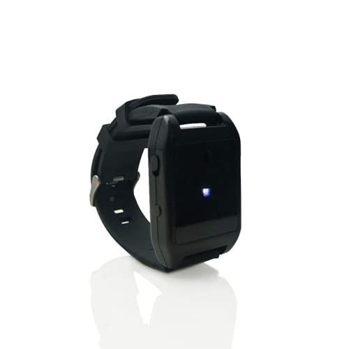 BASU EALARM WRX 착용 비상 경보 산책 및 조깅 자기 방어 SOS 비상 최대 120DB USB 충전