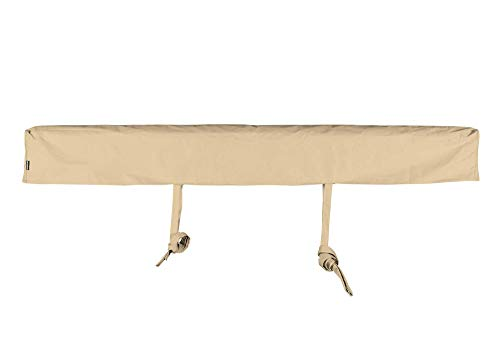 ADVANING AC1400-P861T Protective Cover for 14' Wide Retractable Awnings, Heavy Duty Weather Proof Polyester Fabric, Beige