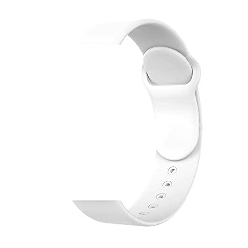 Pulseira de silicone para Smartwatch Relogio inteligente b57 Hero band III (Branca)