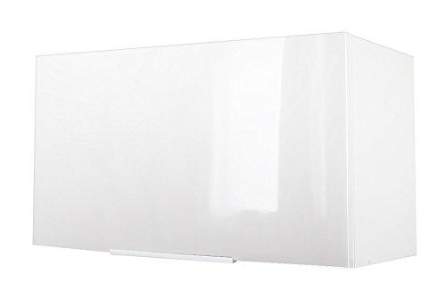 Berlenus CH6HB Küchenoberschrank, 60 x 34 x 35cm, glänzend, Weiß