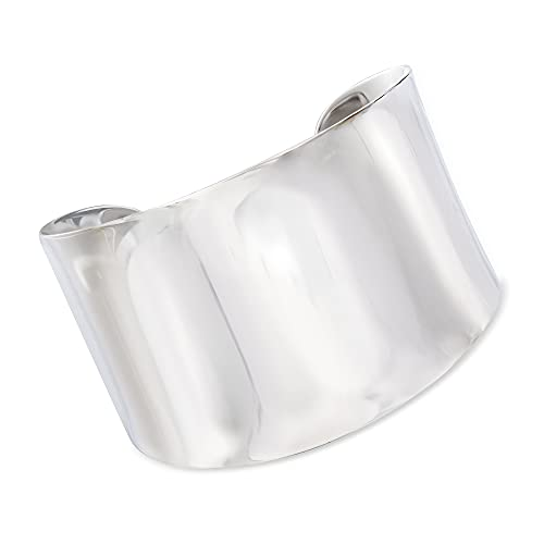Ross-Simons Sterling Silver Wide Polished Cuff Bracelet   Ross Simmons