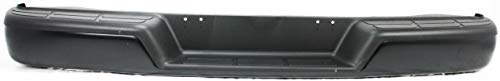 Step Bumper Assembly Compatible with 1996-2014 Chevrolet Express 1500/GMC Savana 1500 Black