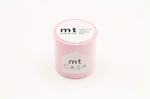 mt Masking Tape Cinta Adhesiva para Decorar Cualquier Superficie. de Interior, Rosa Pastel, Talla pequeña