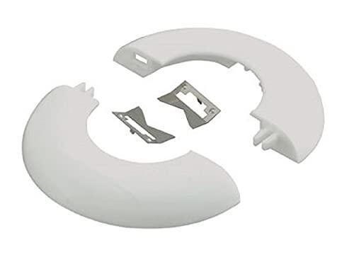 ネグロス電工 【ケース販売特価 10個セット】 電線管用貫通穴化粧カバー 《おめかしRキャップ》 呼び51 ホワイト OMK51-W_set