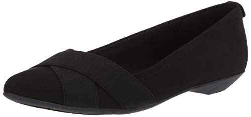 Price comparison product image Anne Klein Women's OLISE Ballet Flat Black,  8.5 M US