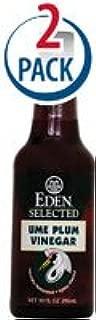 EDEN FOODS Umeboshi Plum Vinegar, 10 Fluid Ounce - Pack 2