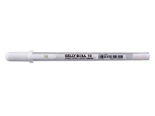 Sakura - Caneta Gel Branca Gelly Roll 1.0mm - Xpgb10