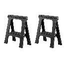 Husky 28 in. Folding Sawhorse (2-Pack)-206138 - The Home Depot