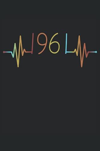 Herzschlag Geburtstag Geboren 1961 Jahr Jahrgang Heartbeat Frequenz: RÄTSELBUCH - 100x SUDOKU MEDIUM - Lustiges Herzlinie Geburtstags Geschenk, ... Rätsel, Notiz, Buch, Gehirnjogging, Logik