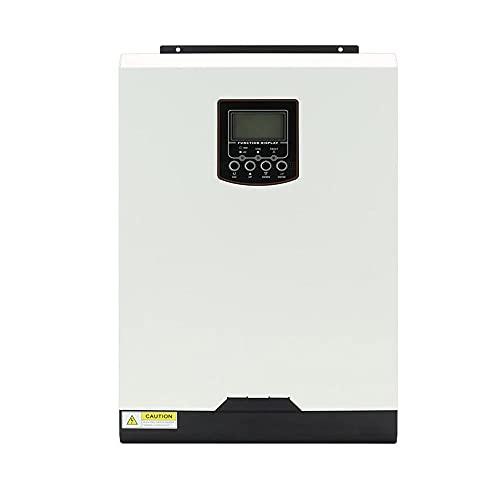 GNY Solar Charge Controller MPPT + PWM Controlador de Carga Solar 30A 50A 70A IP32 Regulador de batería de Panel Impermeable Dual USB 5A 2V LCD Mostrar (Current : 70A)