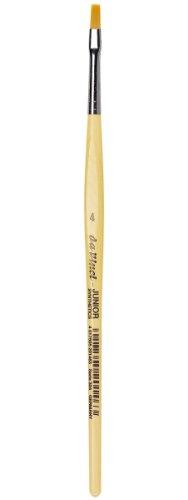DA VINCI 304 Series Synthetic Brush, Bristle, Yellow, 18.5 x 0.5 x 30