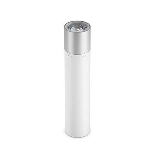 Mijia Linterna portátil blanca batería de litio de gran capacidad, deslumbramiento más largo,Diseño de interfaz de carga USB