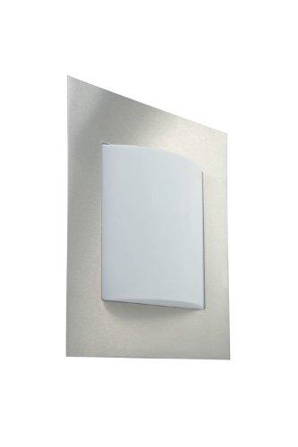Massive 161604710 buitenverlichting outdoor muurverlichting roestvrij staal E27 22W LED - buitenverlichting (outdoor muurverlichting, roestvrij staal, kunststof, roestvrij staal, IP44, ingang, tuin, binnenplaats, II)