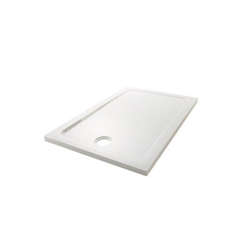Mira Showers Mira 1.1697.018.WH White Flight Low Rectangle Shower Tray, 1200 x 900