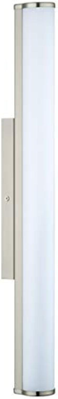 EGLO CALNOVA Wandleuchte, Stahl, Integriert, 16 W, nickel-matt