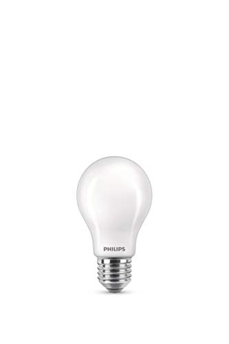 Philips LED classic WarmGlow Lampe ersetzt 60W, E27, hohe Farbwiedergabe (RA90), warmweiß (2200 - 2700K), 806 Lumen, dimmbar