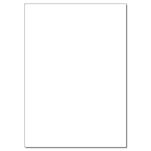 Tonkarton 220g/m², 50x70cm, 25 Bogen, weiß