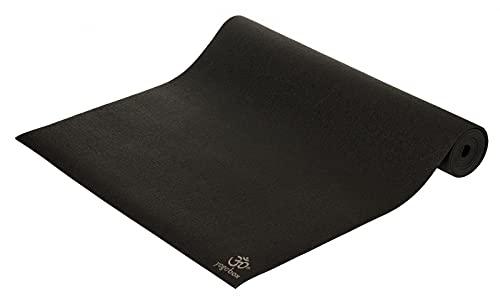 Yogamatte Premium 200 x 60 x 0,45 cm Made in Germany, schwarz