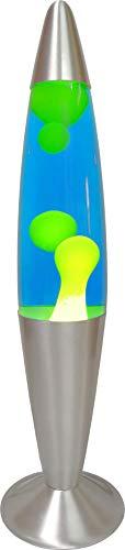 Lavalampe Katla Retro Tischleuchte Stimmungsbeleuchtung Dekolampe (gelb/blau)