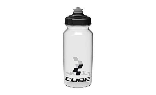 Cube Icon Fahrrad Trinkflasche 0.5 Liter Transparent