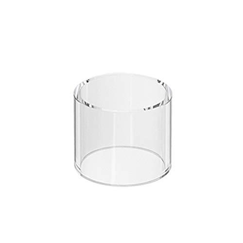 Qingtian-ceg Tubo de Vidrio Pyrex de Repuesto para el Tanque atomizador Vaporesso Veco Solo con Capacidad de 2 ml,Sin Tabaco ni nicotina (Color : Clear)