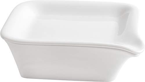 Kahla Magic Grip weiß Mini Backform mit Menüplatte 17x17cm