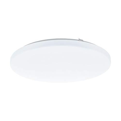 EGLO LED Deckenlampe Frania, 1 flammige Deckenleuchte, Material: Stahl, Kunststoff, Farbe: weiß, Ø: 43 cm