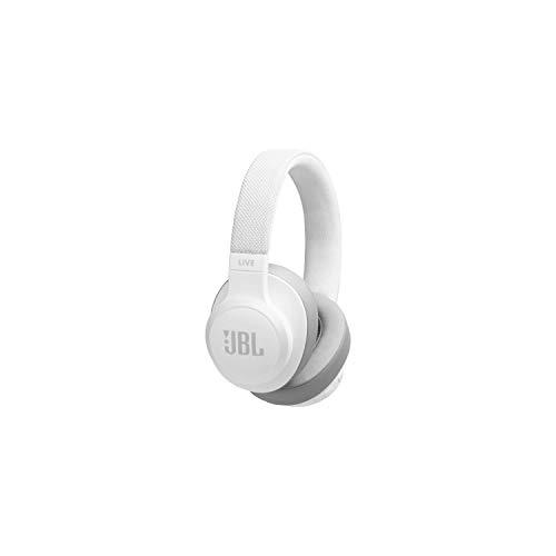 JBL LIVE 500BT kabellose Over-Ear Kopfhörer in Rot – Bluetooth Ohrhörer mit 30 Stunden Akkulaufzeit und Alexa-Integration – Musik hören, streamen und telefonieren unterwegs