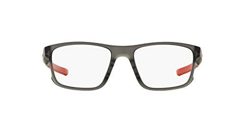 Oakley 0OX8078 Monturas de Gafas, Satin Grey Smoke, 52 para Hombre