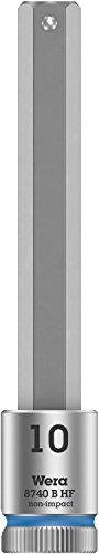 Wera 05003044001 8740 B HF Zyklop vaso de punta hexagonal con arrastre...