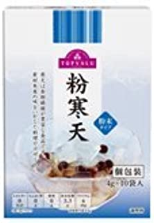 Japanese Agar Powder 40g (4g x 10) Rich Dietary Fiber Easy to Dissolve