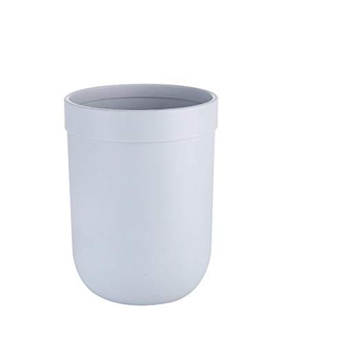 Papelera de cubo de basura interior Bote de basura Creativo Simple Estilo Nórdico Escritorio Hogar Sala de estar Dormitorio Cocina Sin tapa Anillo de presión Papelera de basura Cubo de basura Cubo de