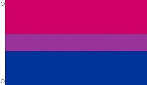 152,4 cm x 91,44 cm (150 x 90 cm) Bi-orgullo Gay Bisexual 100% Material de poliéster bandera de la bandera Ideal para Pub Club Festival de la escuela de negocios dreammadestudio