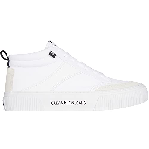Calvin Klein Dunlop Damen Sneaker Vulcanized Skate Midlaceup Mix Weiss - 40/40.0