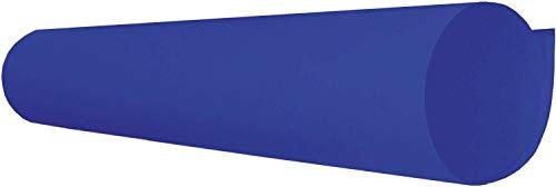 Papel Cartolina Dupla Face Color Set 48x66 Azul Escuro - Pacote com 20 V.M.P., Azul Escuro