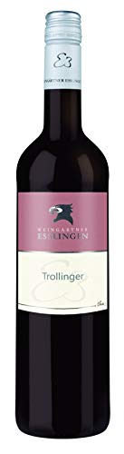 Württemberger Wein Esslinger Schenkenberg STAFFELSTEIGER Trollinger QW halbtrocken (1 x 0.75 l)