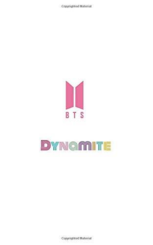 BTS Dynamite: Korean Writing Practice Notebook: Hangul Manuscript Paper