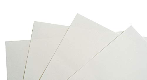 droit haut 20 x 7 cm Vinyl Guru Lot de pochettes carton blanc